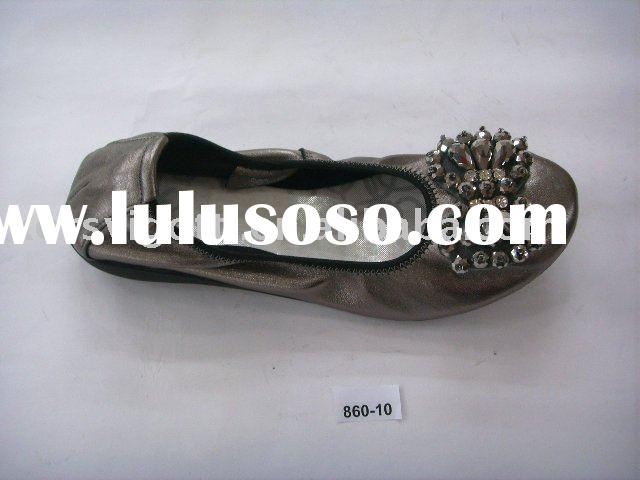 women flat shoes 2010, flat shoes for women, nice design ladies flat shoes