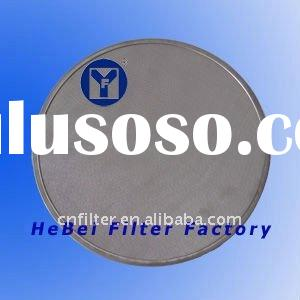 woven wire mesh filter disc with material stainless steel for beverage factory, surface water treatm