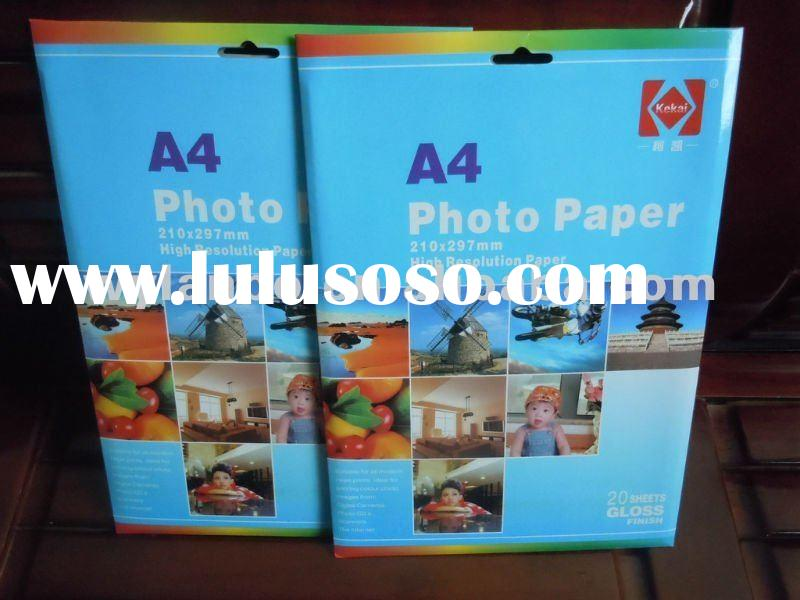 180GSM/m2 - A4*20 sheets - High glossy photo paper