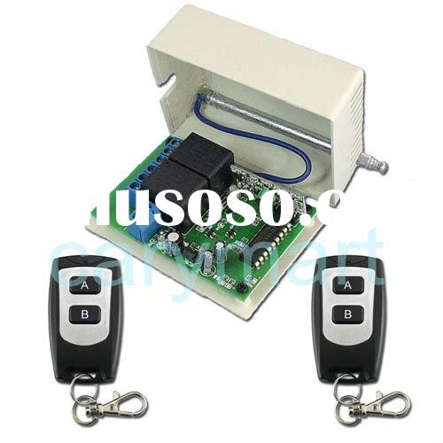 1 channel 315MHz/433MHz 12V wireless remote control relay switch, radio transmitter and receiver con