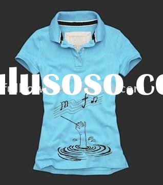 2010 fashion women's polo shirts, brand t-shirts, S-L