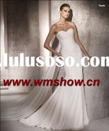 2011 Latest Modern Best Price Sweetheart Wedding Gowns And Bridal Dress