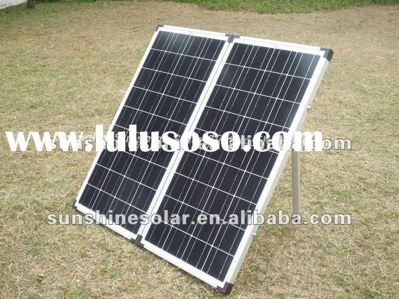 2011 hot selling list 120W New design folding solar panel