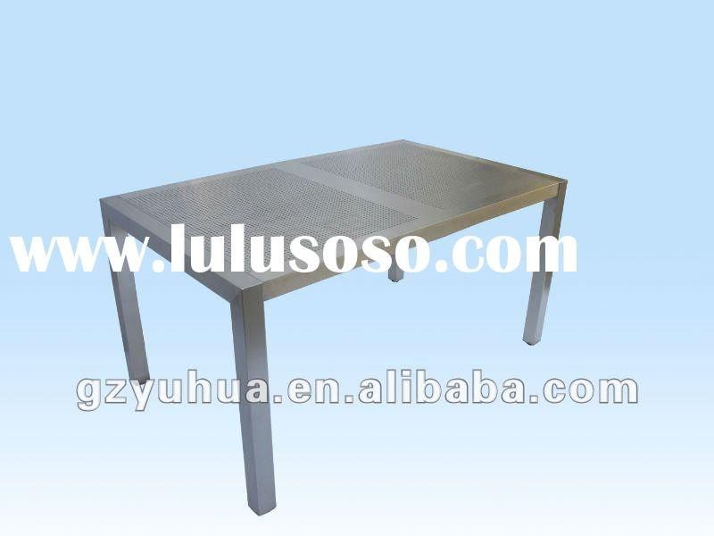 2012 Newest Modern stainless steel Outdoor Tables