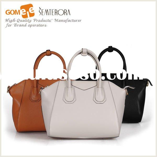 2012 Summer Leather Fashion Handbag-Professional Leather Bags' Factory