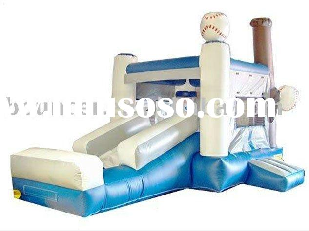 2012 cheap inflatable products (with slide and swimming pool)