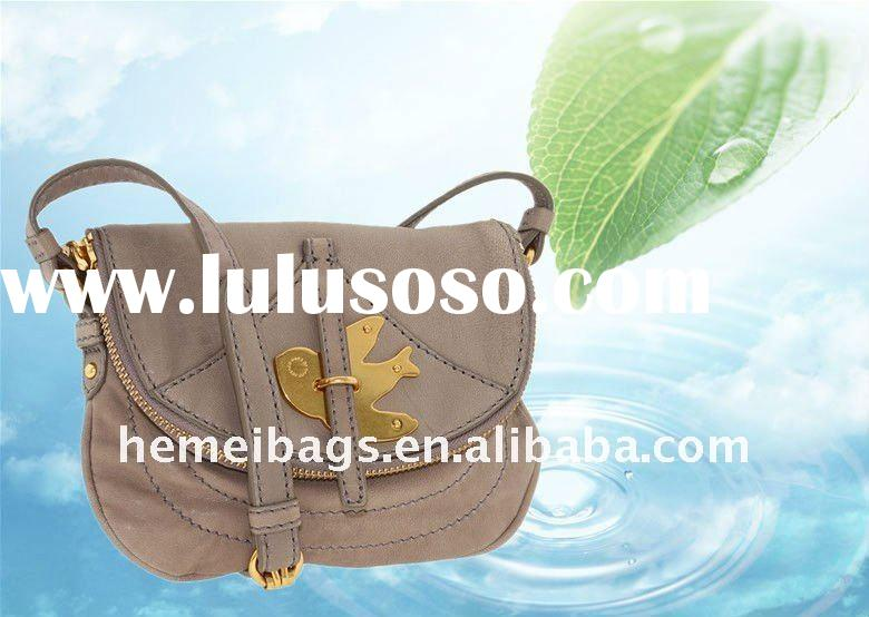 2012 lady fashion famous brand handbags Constructed of Leather