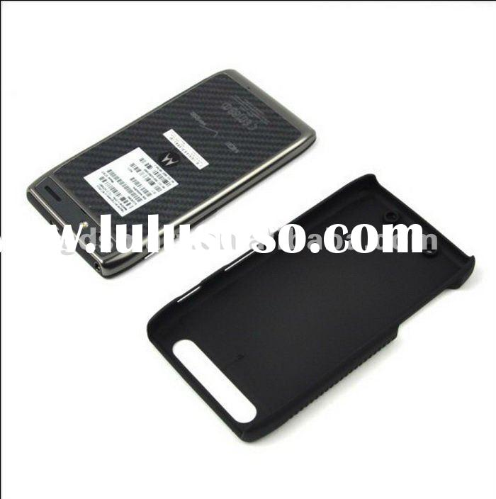 2 in 1 PC HOLDER BELT CLIP combo case with stand cover for MOTOROLA DROID RAZR MAXX XT913 VERIZON bl