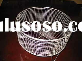 304 stainless steel wire type round basket