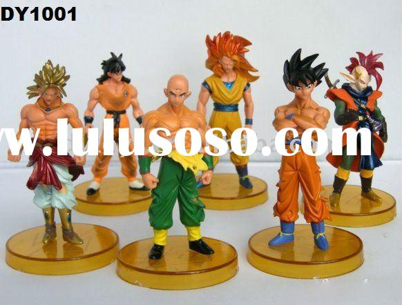 4.7inch Dragon ball Z plastic cartoon Action Figure