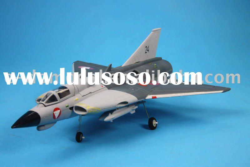 4ch SAAB J35 Draken RC toys plane---Good flight