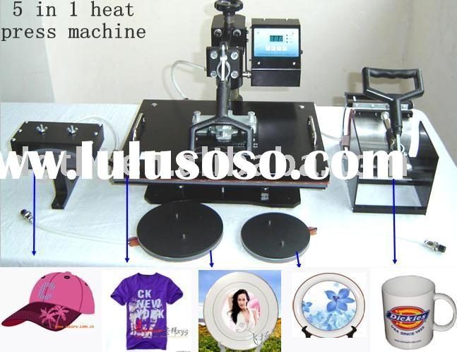 6 in 1,5 in 1, 4 in 1 Multifunction Combo heat transfer machine, heat press machine,Mug,Plate,T-shir