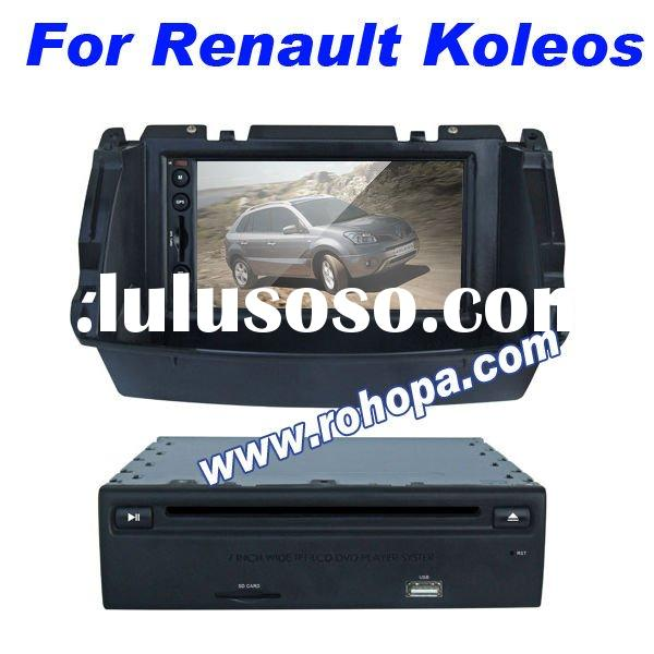 7 inch double din Car DVD for Renault Koleos with gps