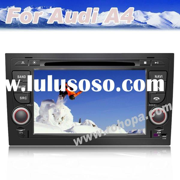 7 inch double din car dvd with gps special For Audi A4 2002-2008