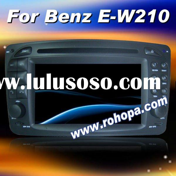 7 inch in dash double din car dvd with gps for Benz E-W210 C-W203 A-W168 SLK-W170 CLK-C209 CLK-C208
