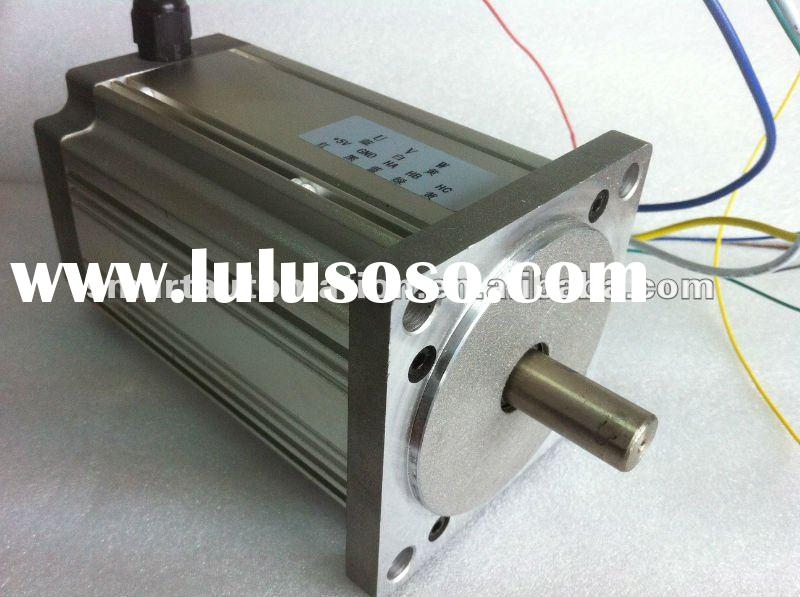 80mm 12v 24v 48v high power brushless dc motor, 300w, 400w, 600w available