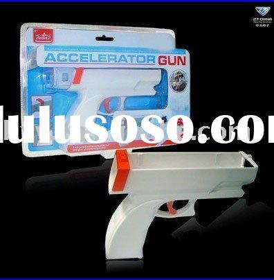 Accelerator Gun for Wii,for video game accessories