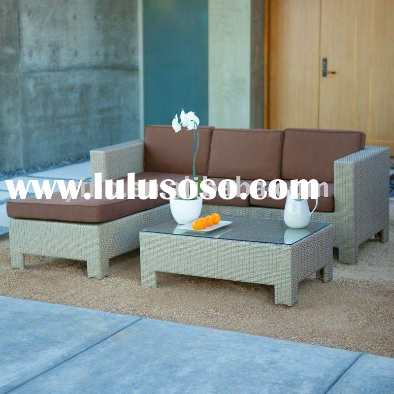 All-Weather Wicker 3 Piece Sofa Set RZ1824