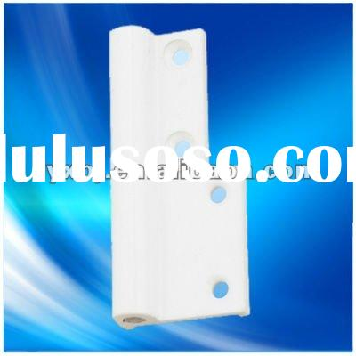 Aluminum window screen hinge with metal material
