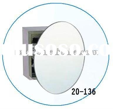 Bathroom Accessory- Stainless Steel Bathroom Round Mirror Cabinet