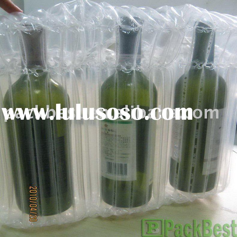 Blow up Air Bags (for wine bottle & glass) 3--in-1
