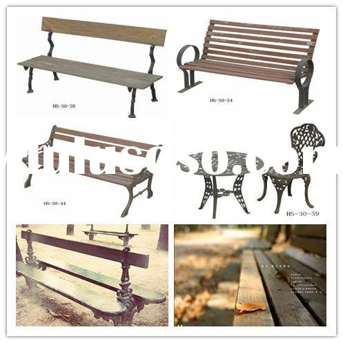Vintage Cast Iron Garden Furniture | DIY Woodworking Projects