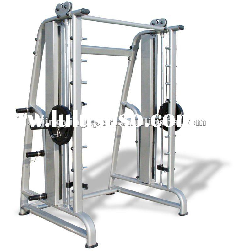 CE Certificated Plate Loaded Fitness Equipment / Smith Machine(FU-8820)