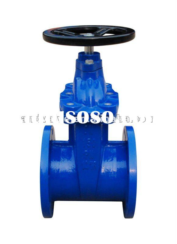 Cast Iron Non-Rising Resilient Gate Valve F4