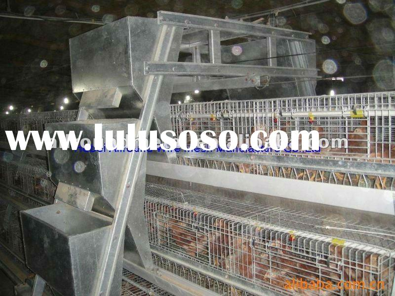 Chicken cage poultry feed processing equipment