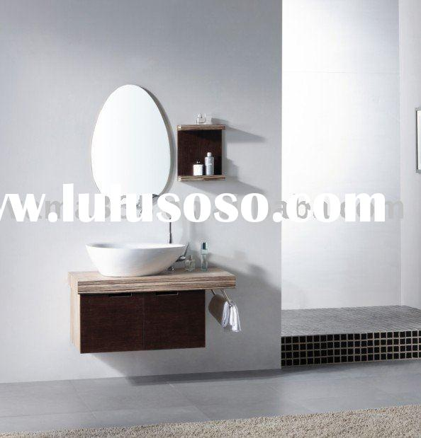 China unique design bathroom corner cabinet with towel bar V-11049