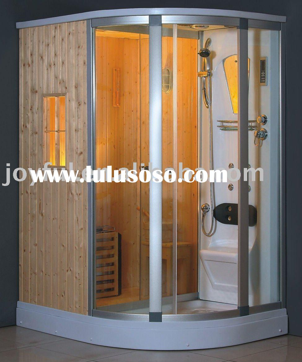 Enjoyable Wet steam Sauna Room Combined with Shower Room