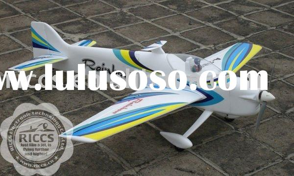 F3A Rainbow airplane model,EPO F3A 3D aerobatic rc airplane model ( aircraft model ),2.4G airplane m