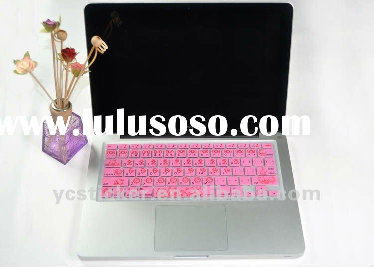For ALL MacBook Pro Hello Kitty Pink Silicone Keyboard Cover Skin