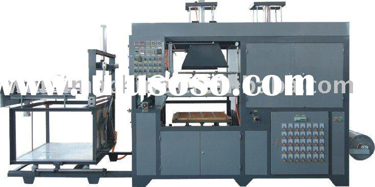 Full-auto small high-speed plastic vacuum forming machine