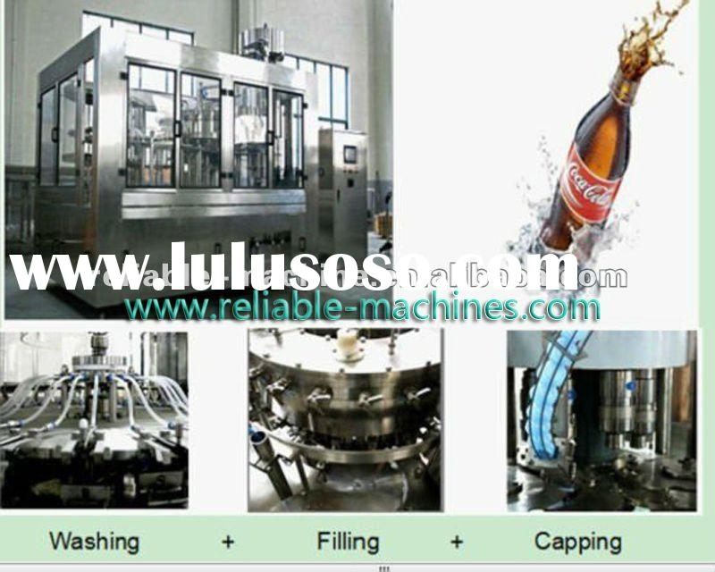 Gas Filling/Glass Bottle Carbonated Soft Drink Filling Machine