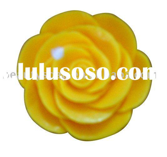 HOT!Flower!Yellow rose Bath soap
