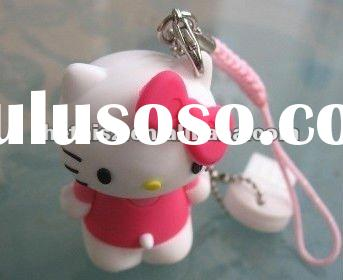 Hello Kitty USB Flash Drive, 3D Soft PVC