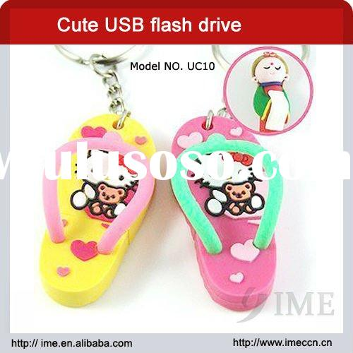 Hello kitty slippers usb flash drive - cartoon usb