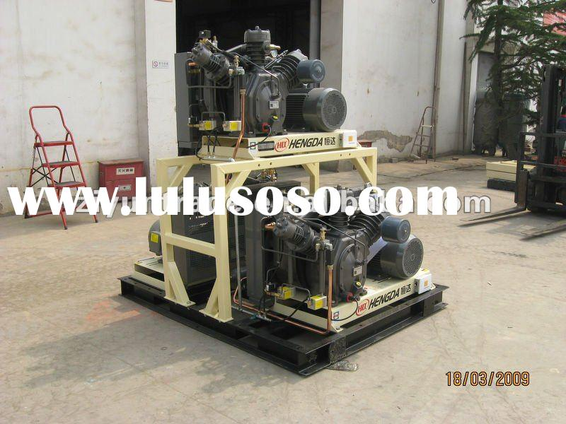 High pressure air compressor used PET bottle blowing