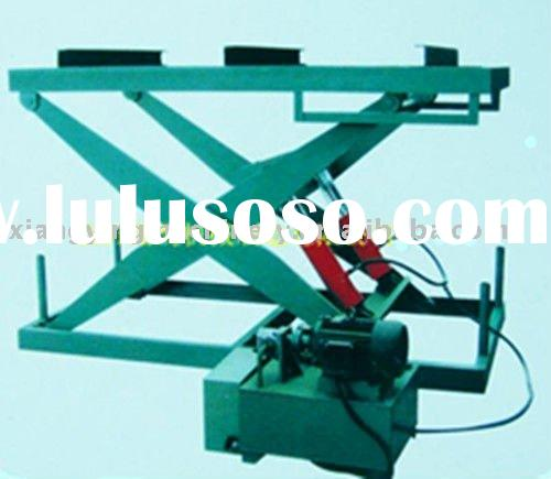 Hydraulic motorcycle lift table/plywood sanding machine