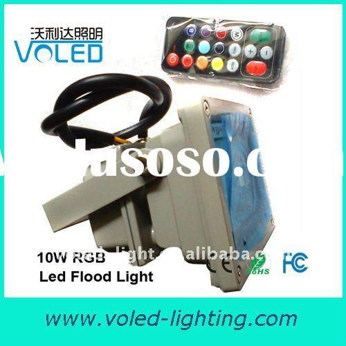 LED RGB Flood light with remote control 10W 20w 30w