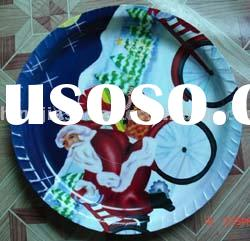 Large Plastic Christmas Tray