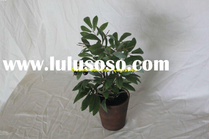 Mini tree, artificial plant, evergreen