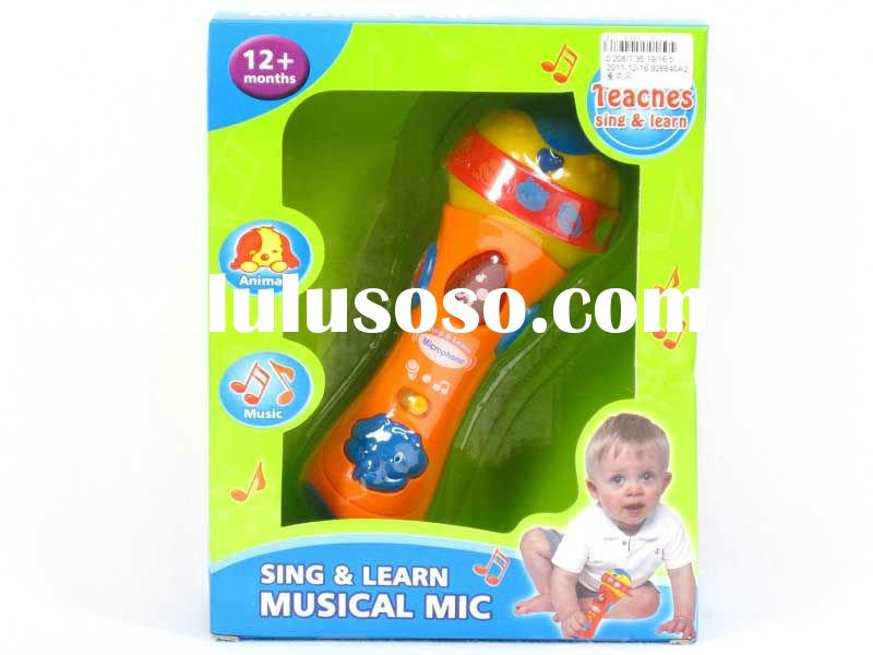 Musical Toys,Toys Microphone,AA Battery Operated --AL9988