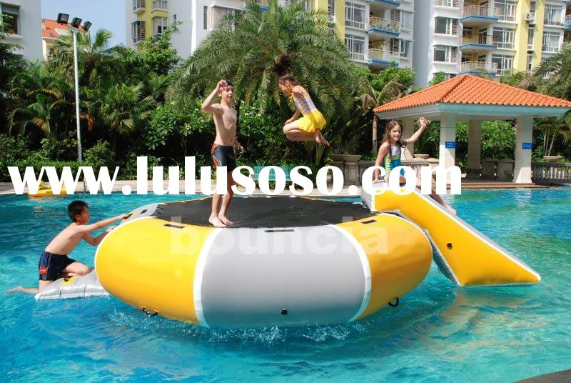 NEW water bouncer platform/water trampoline
