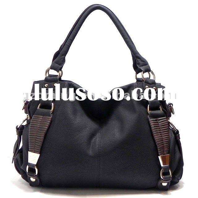 New Black Fashion Alyssa Shoulder Bag Hobo Tote Satchel Purse Handbag