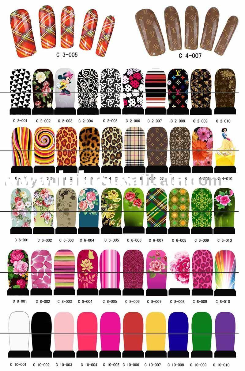 Sticker nail art designs how you can do it at home pictures nail nail sticker sticker nail art designs prinsesfo Gallery