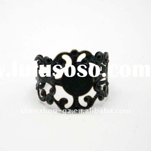 Newest adjustable style Antique Ring base BR-008