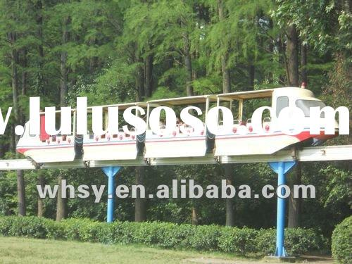 Outdoor playground equipment amusement rides Semi-Closed Sightseeing Air Train