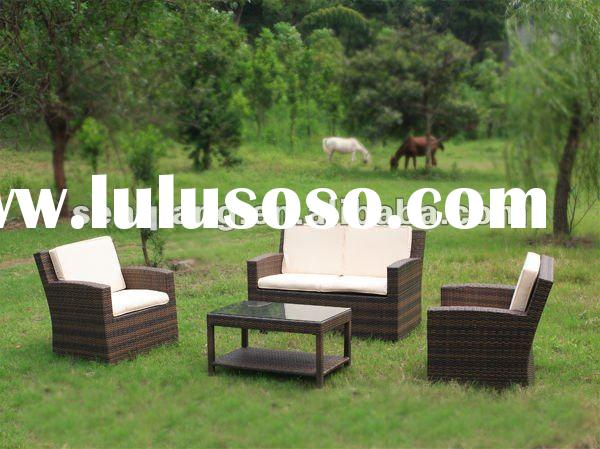 PE Rattan Wicker Outdoor furniture poly rattan garden furniture